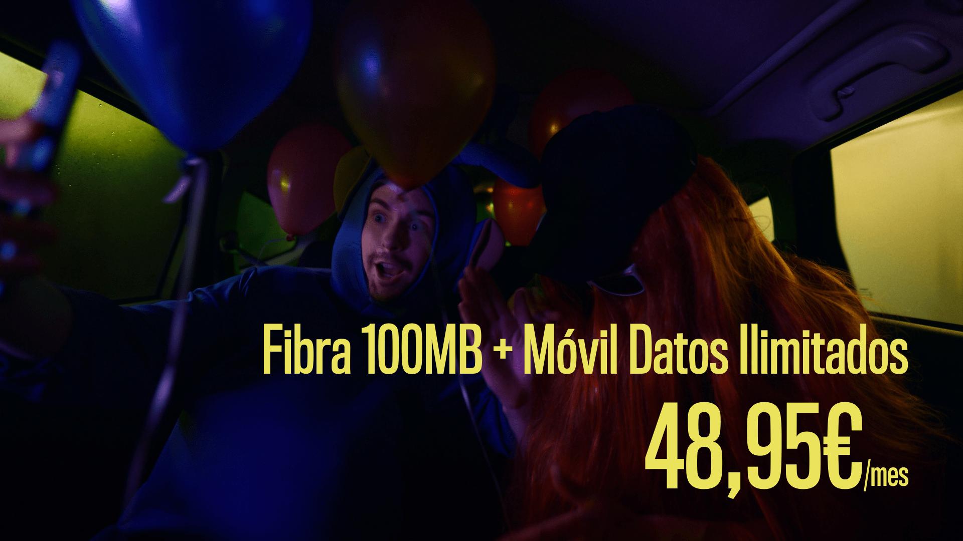 Fibra 100MB + Móvil Datos Ilimitados-min