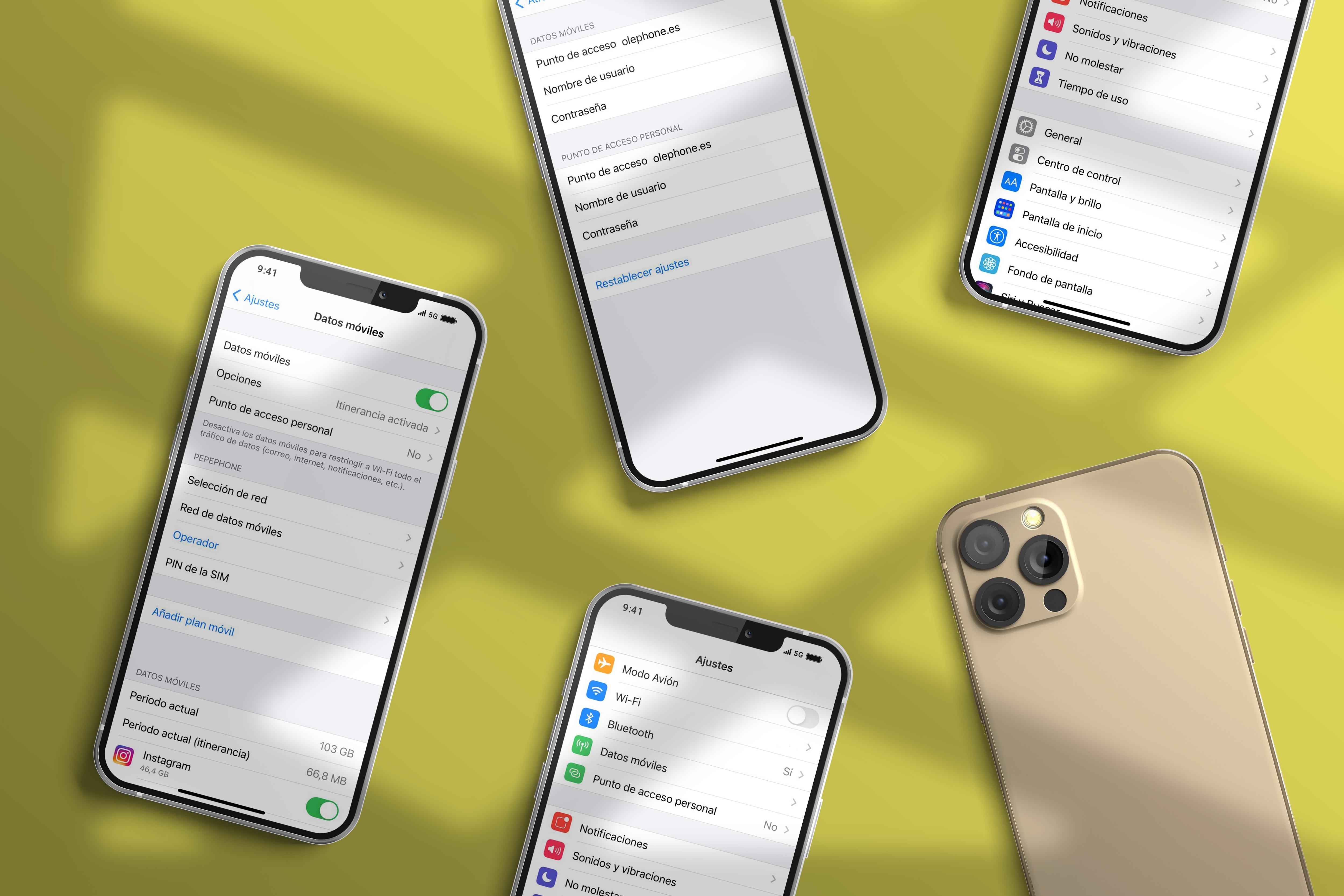 Configura tu SIM Oléphone en iPhone
